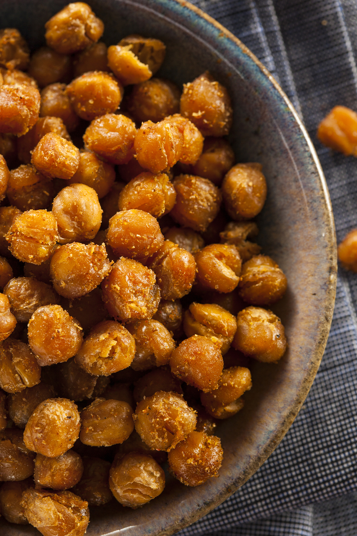 Healthy Superbowl Recipes: Crispy Chickpeas