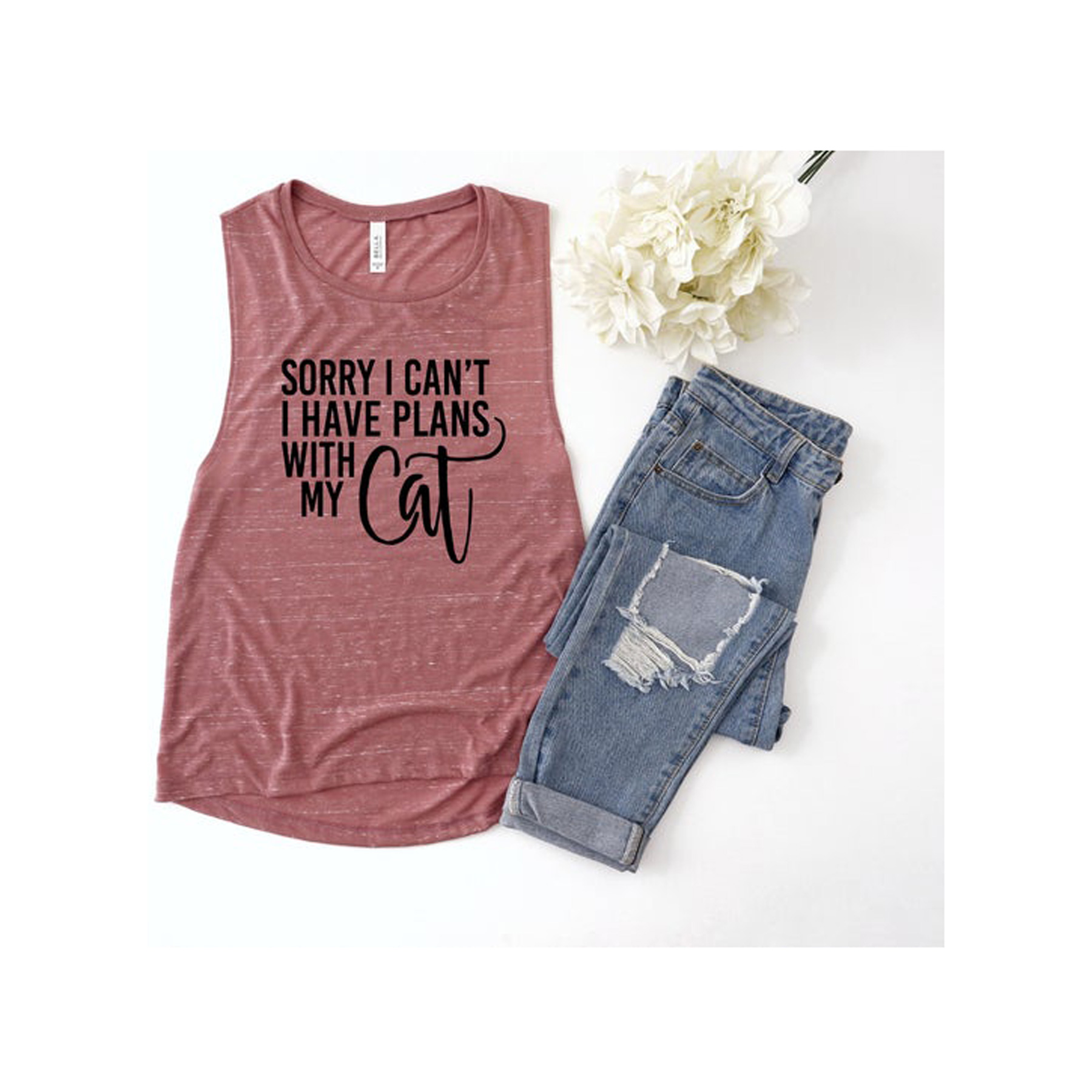Funny Valentine's Day Gifts: Sorry I Can't I Have Plans With My Cat Tank