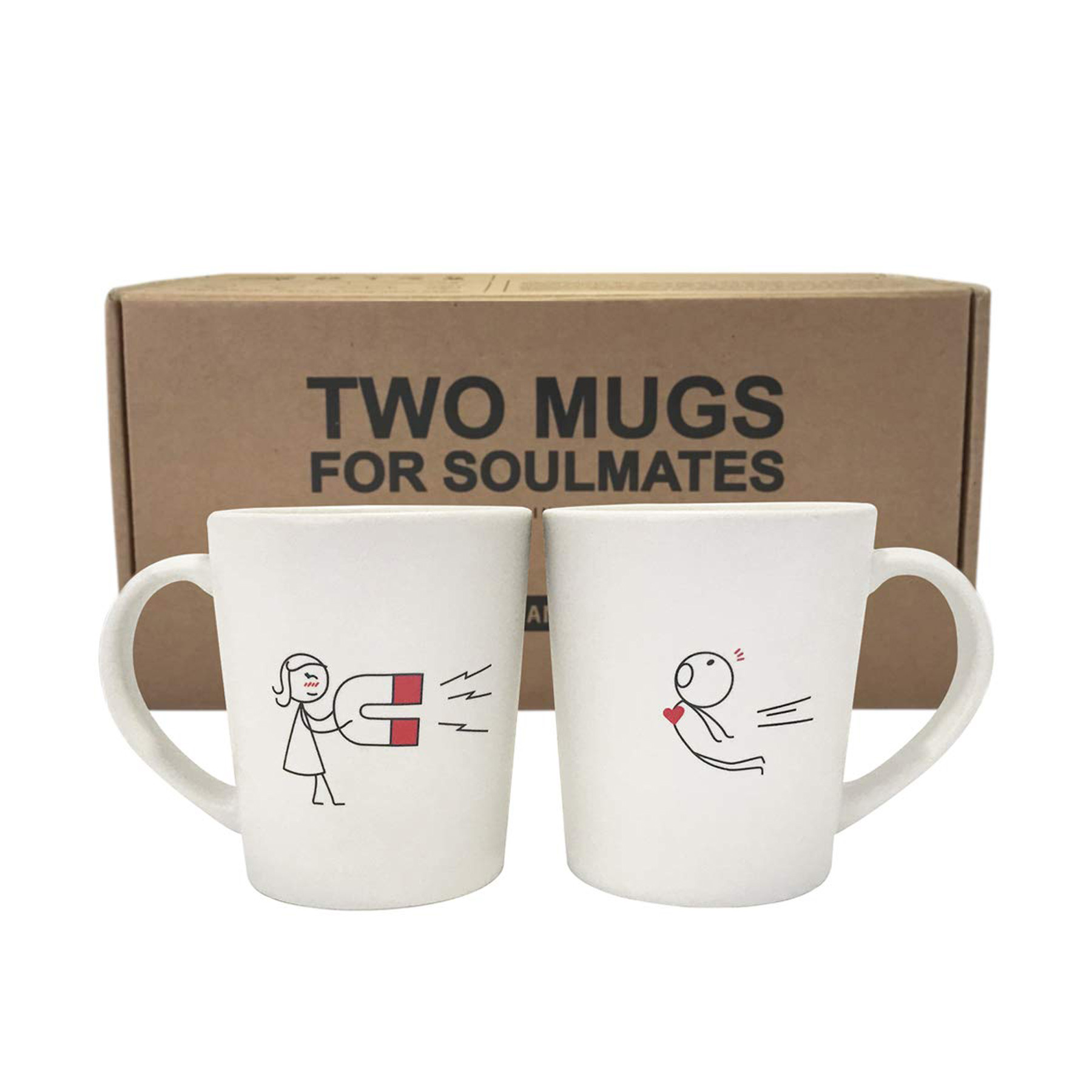 Funny Valentine's Day Gifts: Magnet Mugs