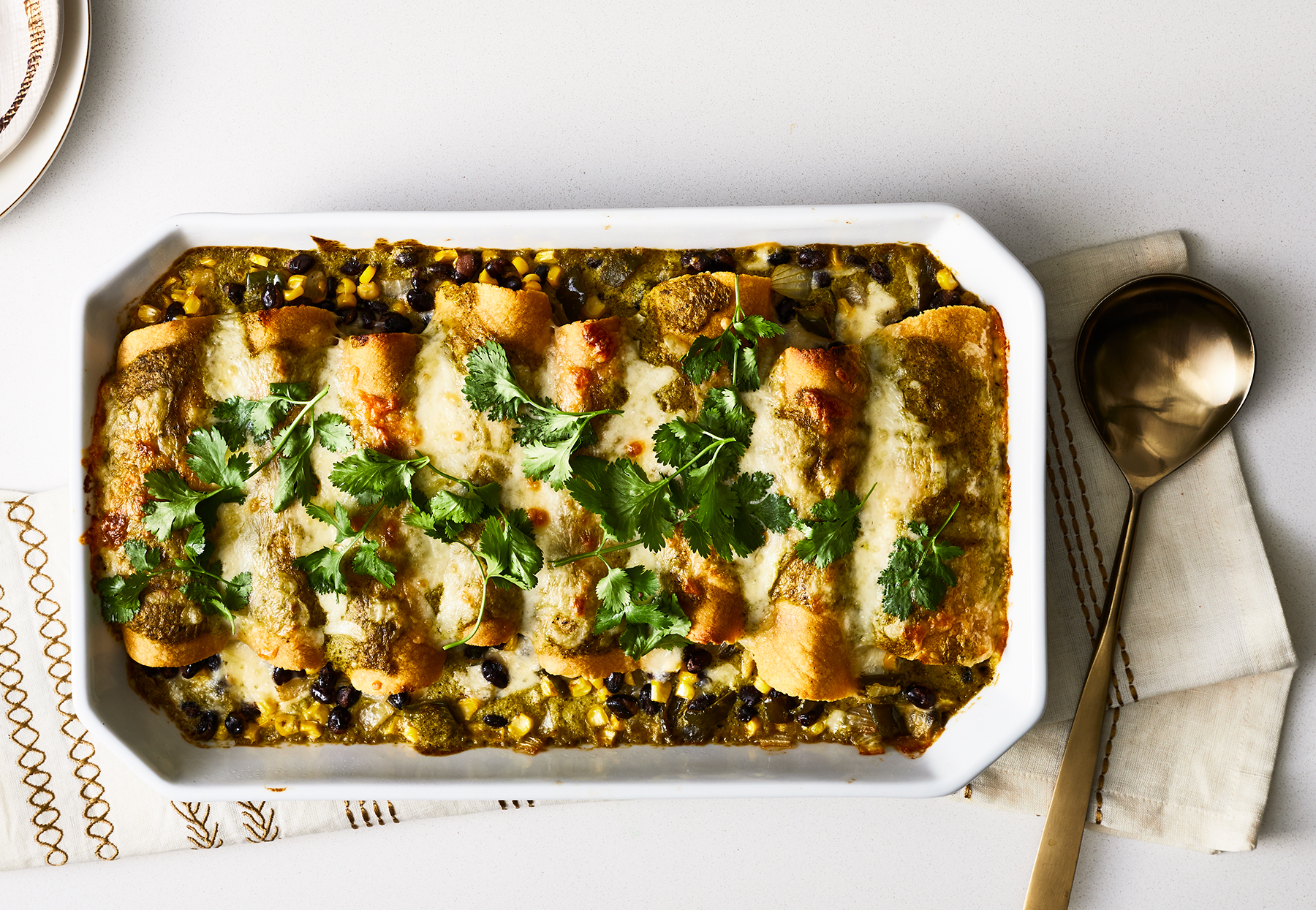 Green Chile Enchiladas Recipe