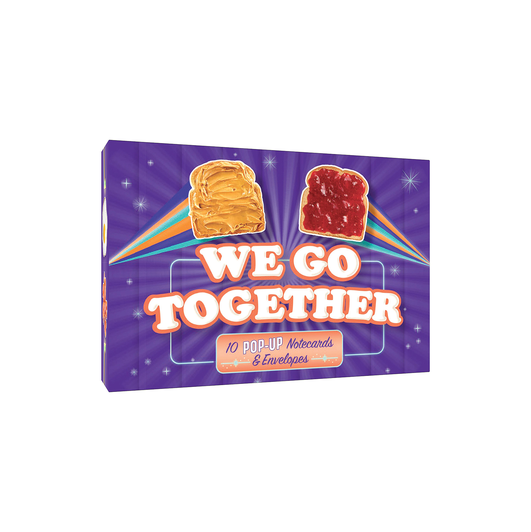 Funny Valentine's Day Gift Ideas: We Go Together Pop-Up Notecard Collection