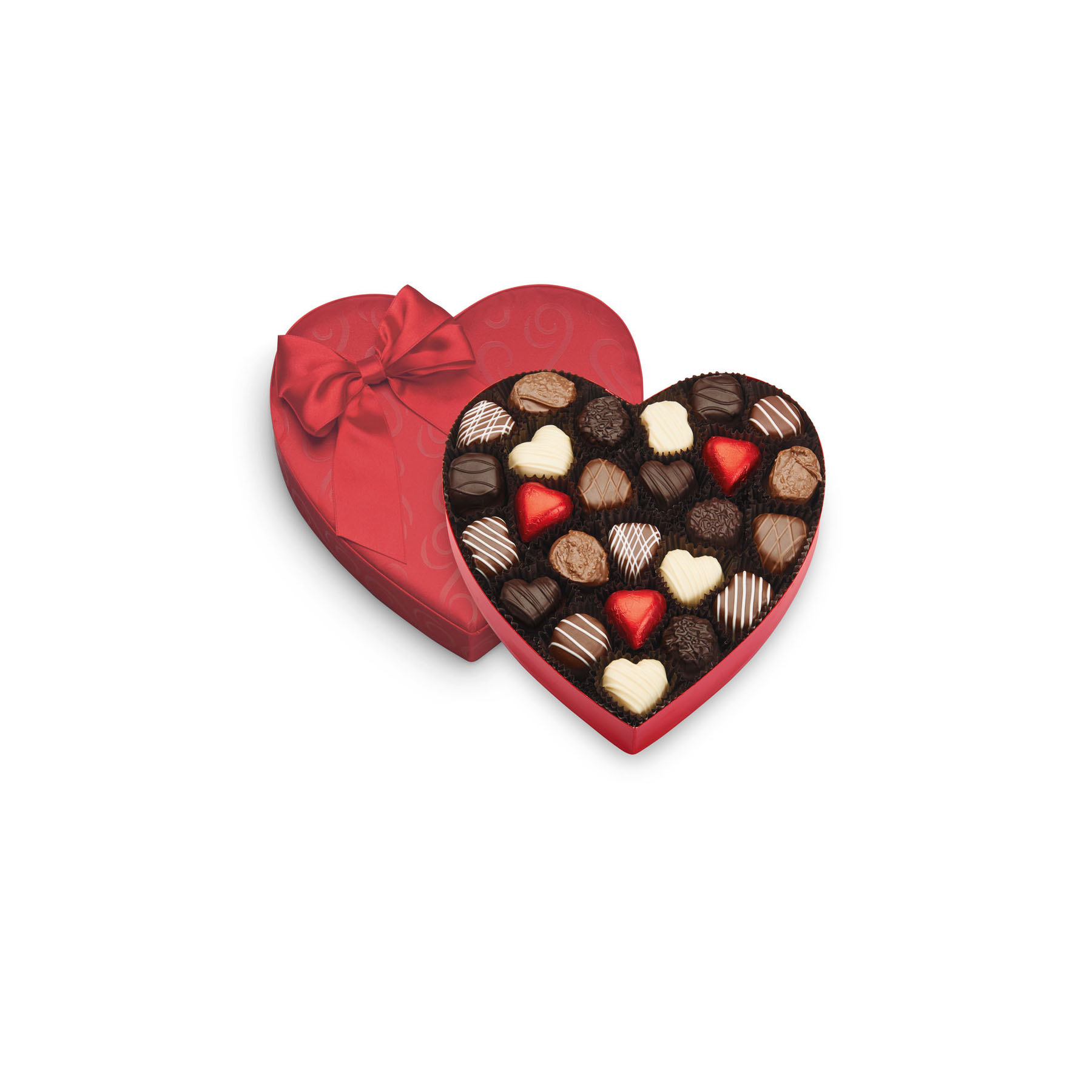 See's Candies Satin Truffle Heart