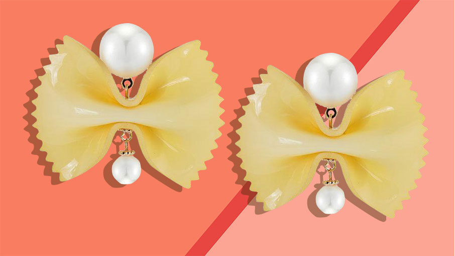 Galentine's Day gifts - farfalle earrings from chefanie tout