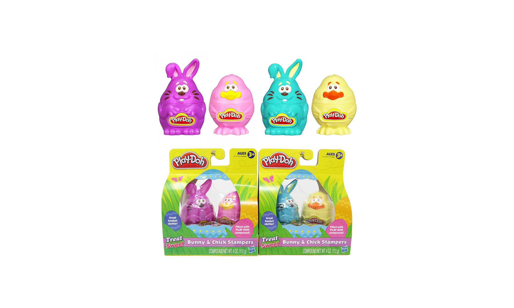Play-Doh Easter Bunny & Chick Stampers