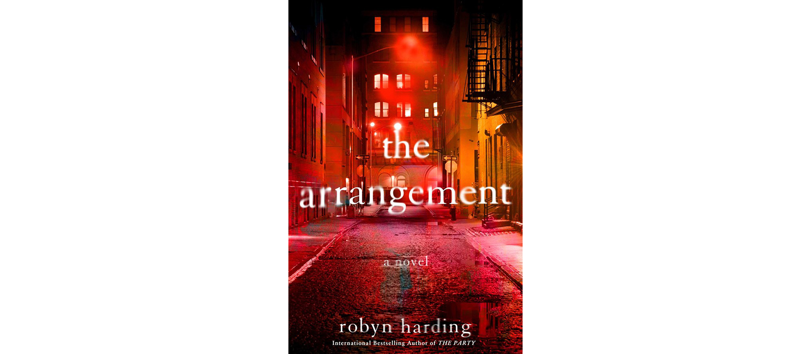 Cover of The Arrangement, by Robyn Harding