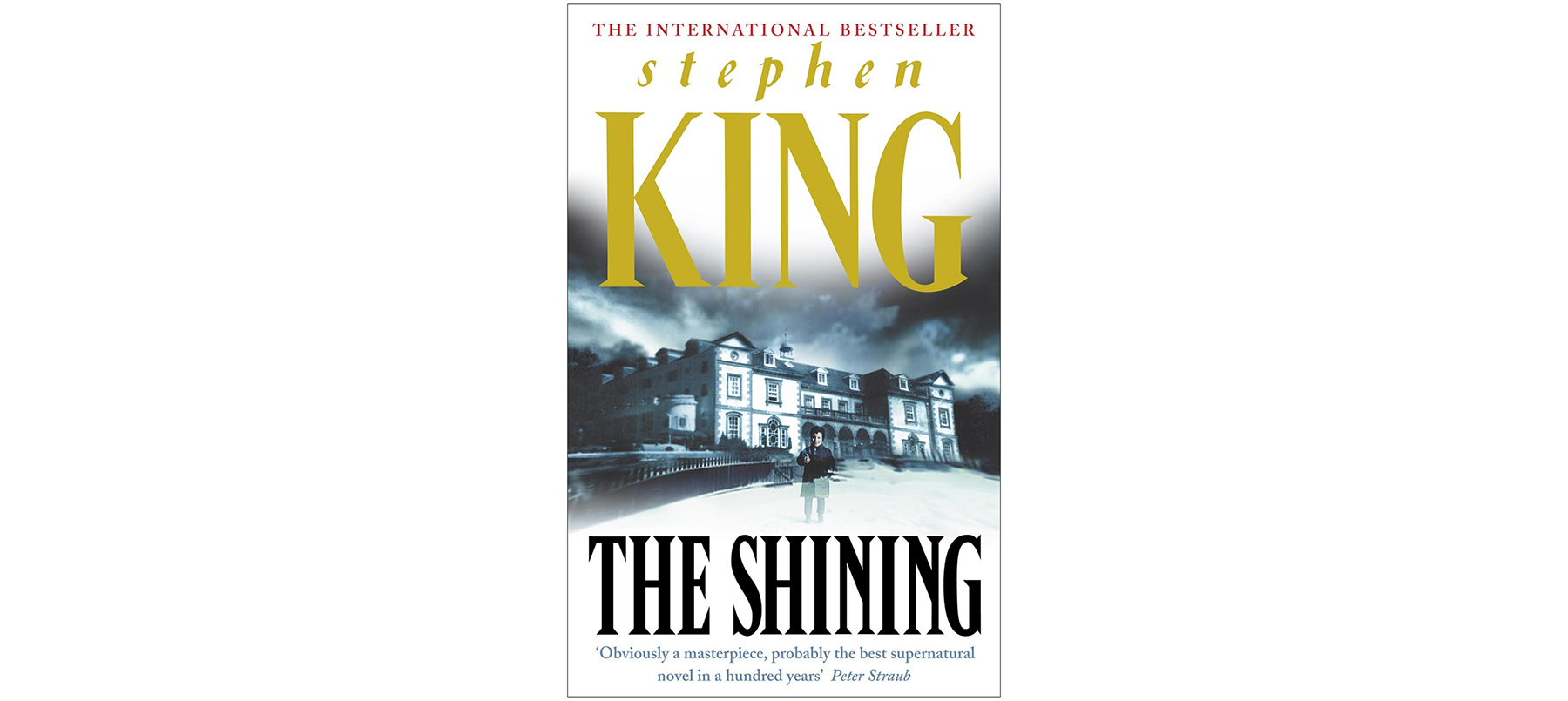 Cover of The Shining, by Stephen King
