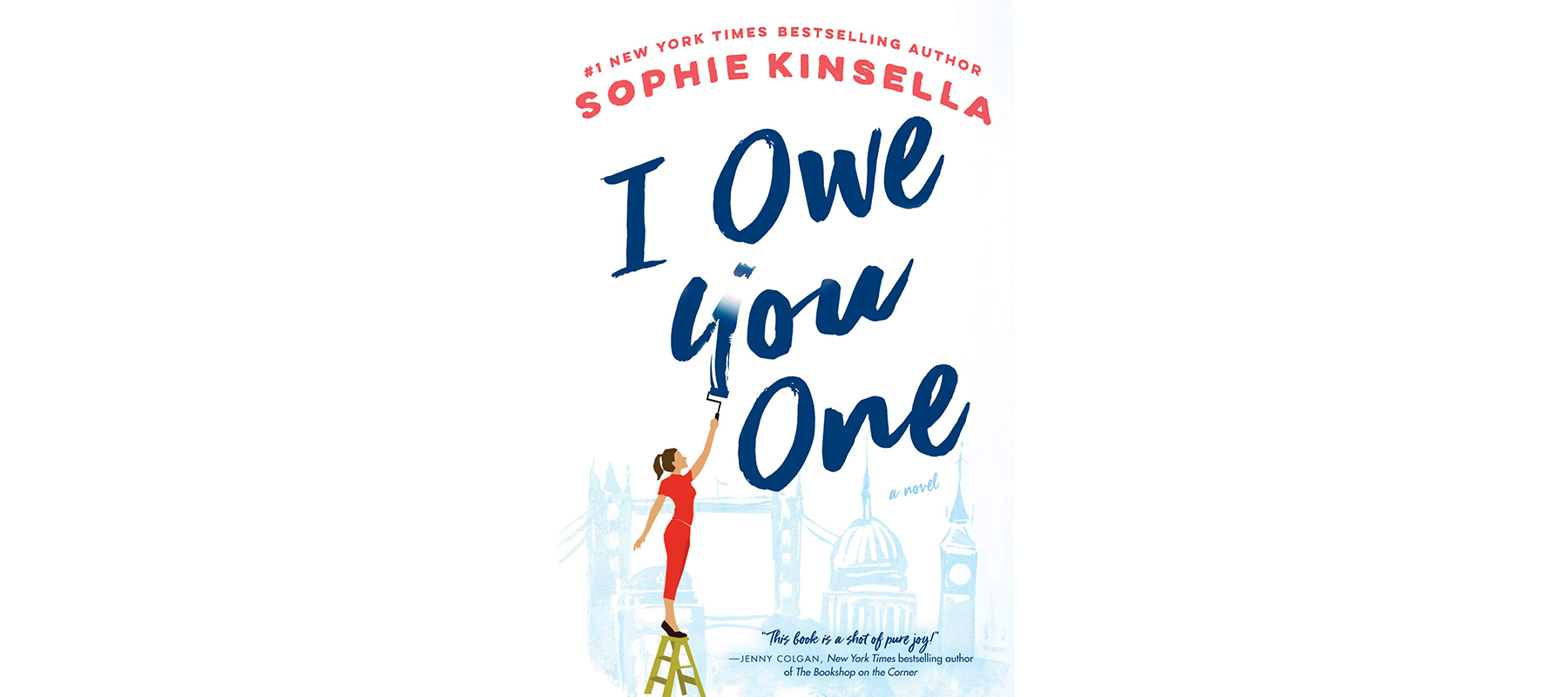 Best Beach Reads: Cover of I Owe You One, by Sophie Kinsella