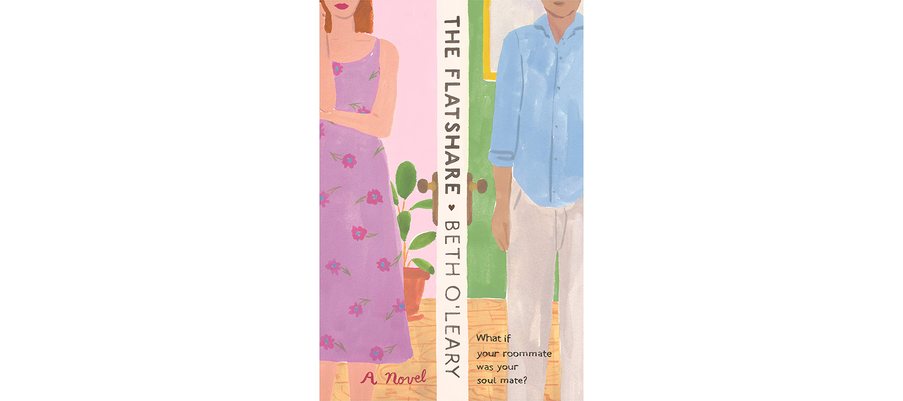 Best Beach Reads: Cover of The Flatshare, by Beth O'Leary