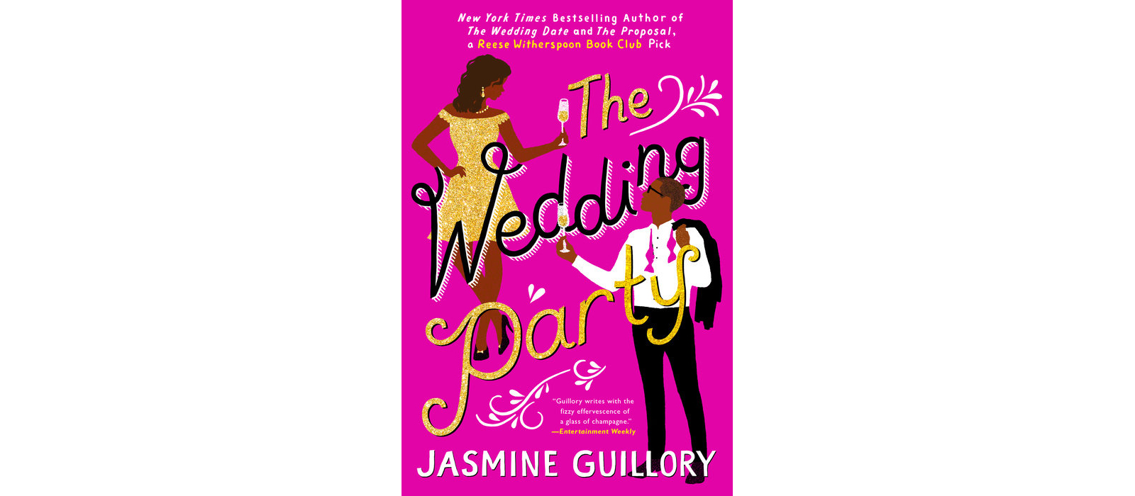 Cover of The Wedding Party, by Jasmine Guillory