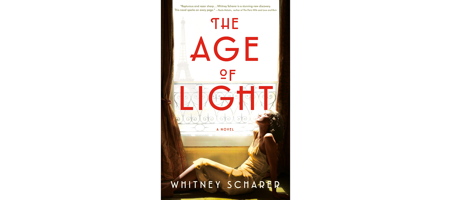 Best Beach Reads: Cover of Age of Light, by Whitney Scharer