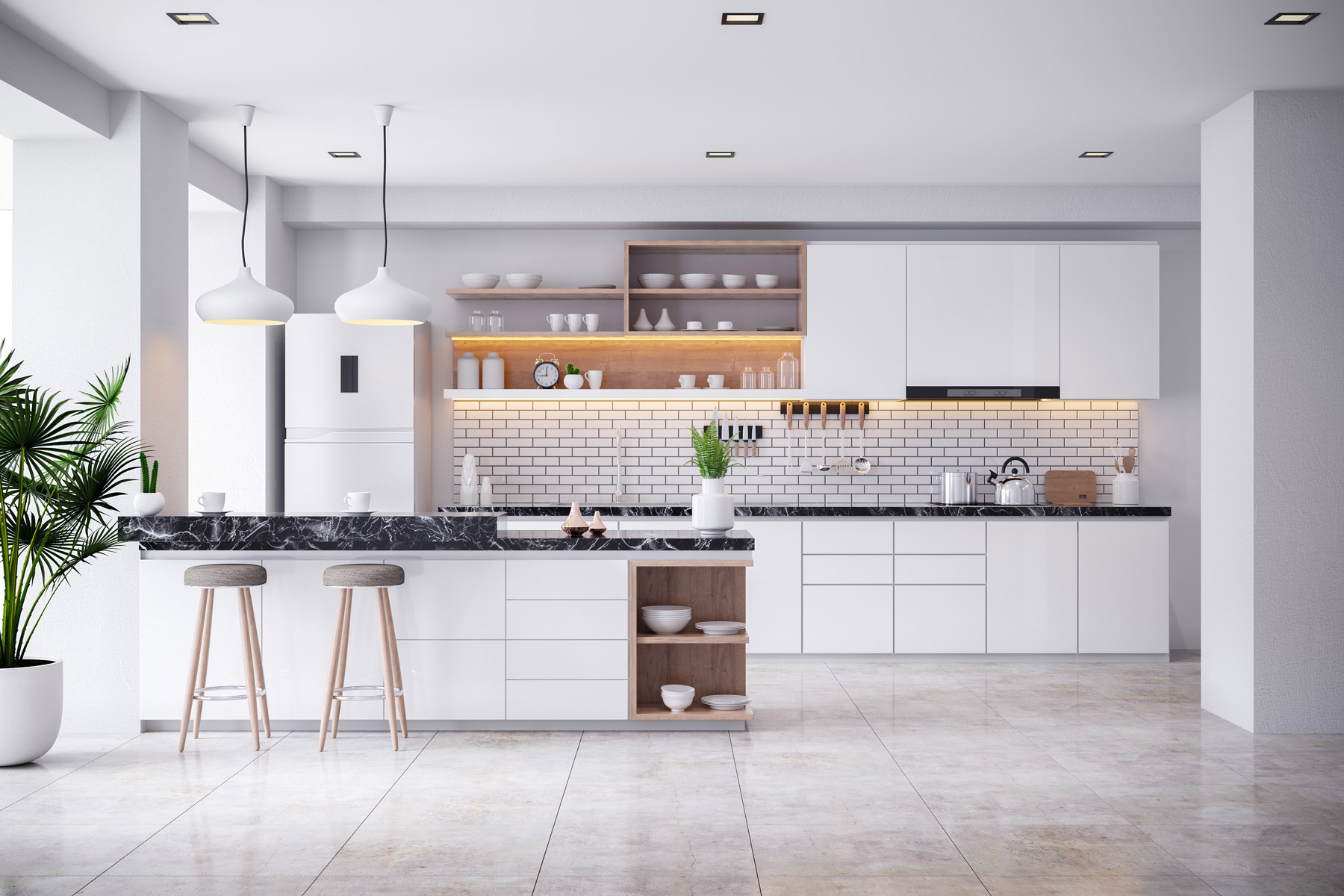 Kitchen remodel costs - how much to spend on kitchen renovation