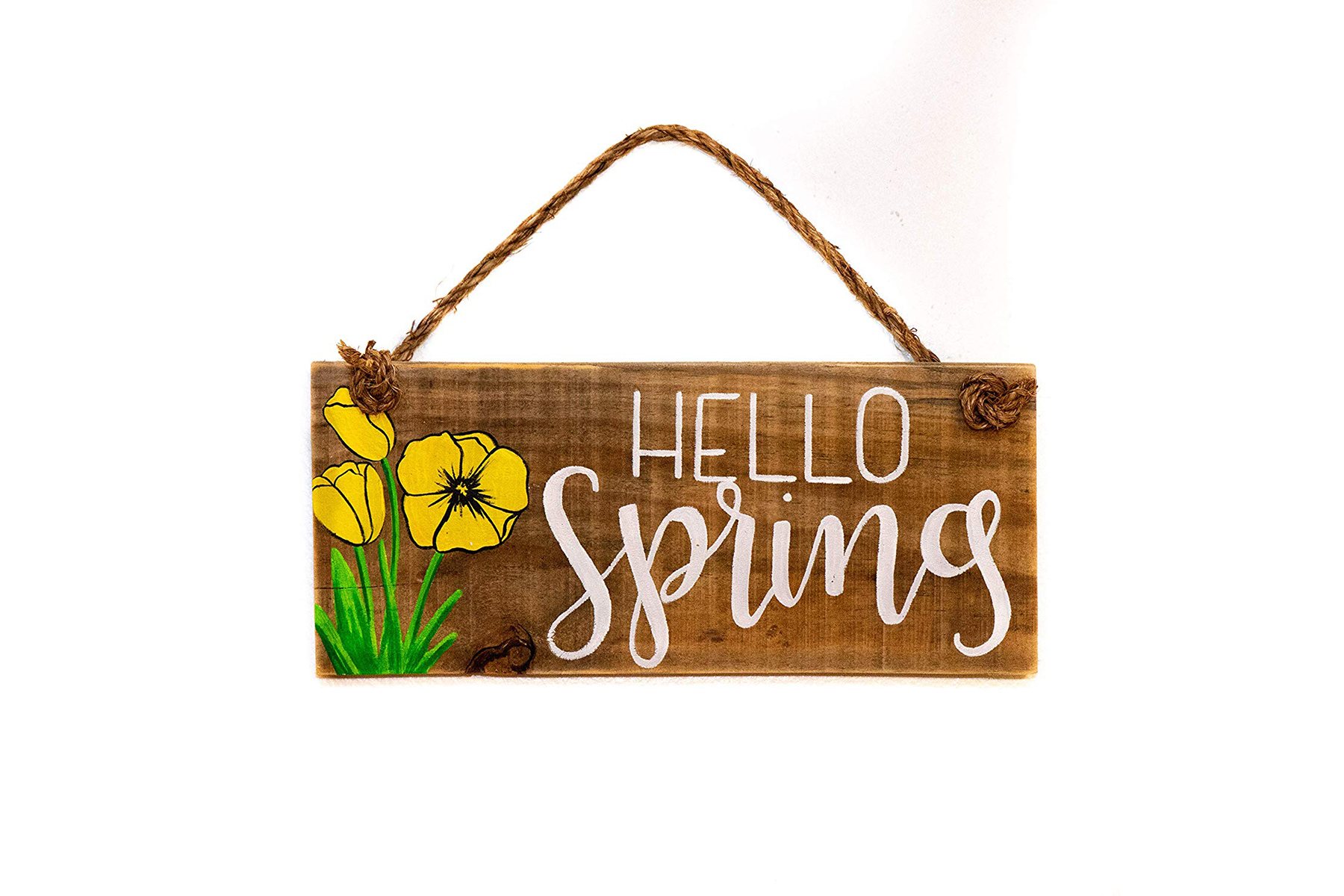 Hello Spring Sign for Easter