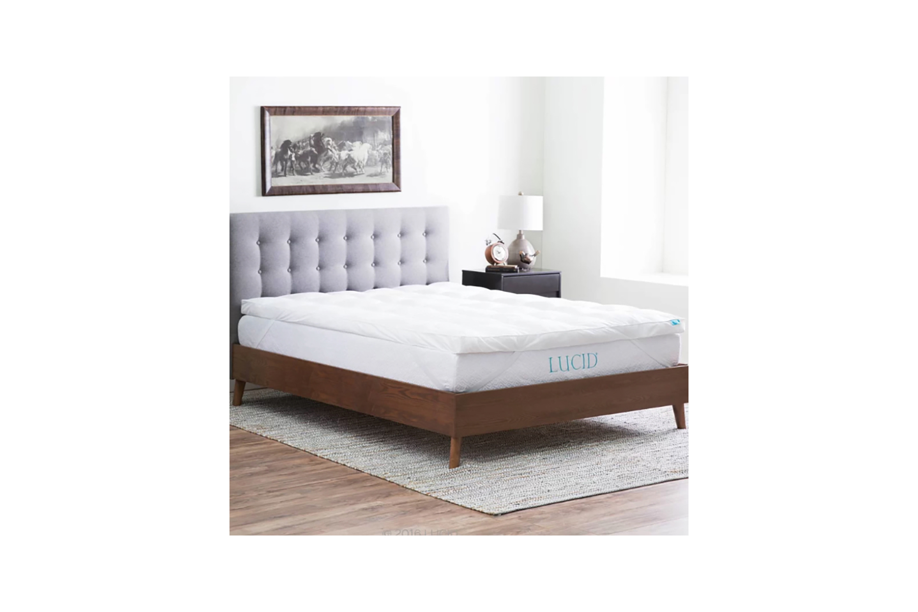 The Twillery Co Polyester Mattress Topper
