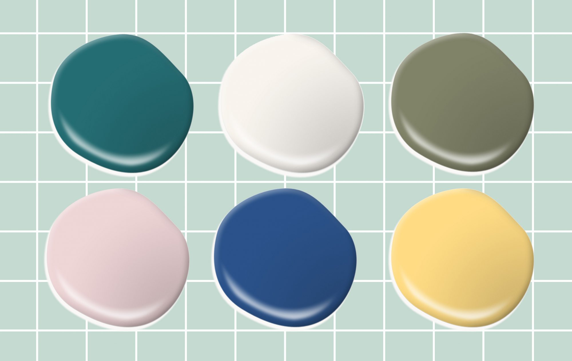 Mood-Boosting Behr Paint Colors - Compilation of paint colors