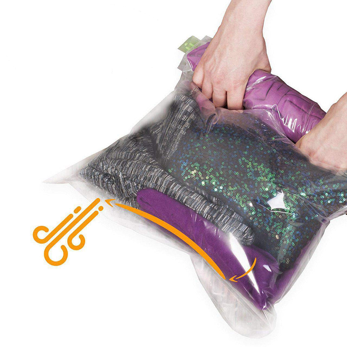 The Chestnut No Vacuum Travel Space Saver Bags