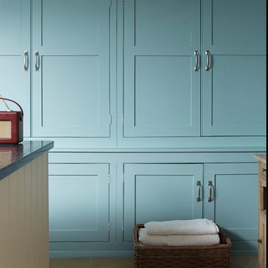 Blue Ground by Farrow & Ball blue paint