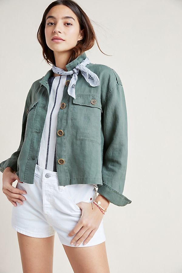 Lightweight Linen Jacket