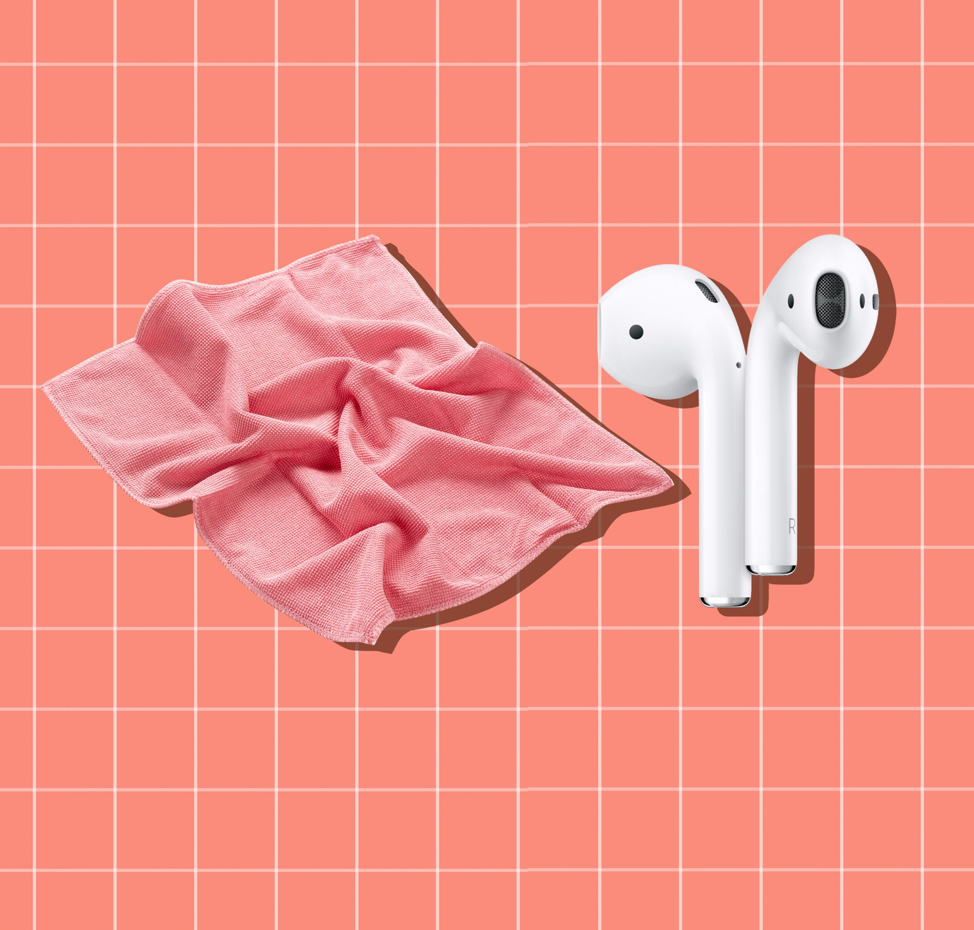 How to Clean AirPods Case, AirPods and cloth