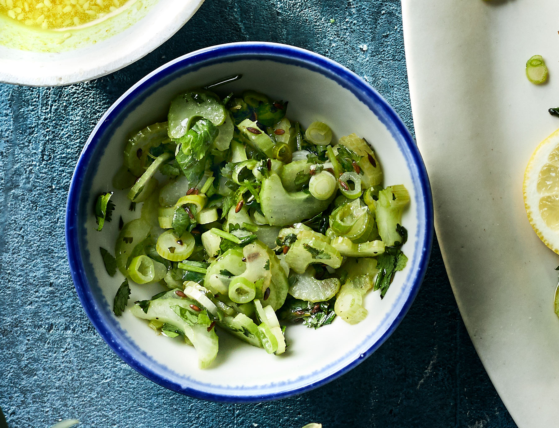 Celery-Scallion Relish