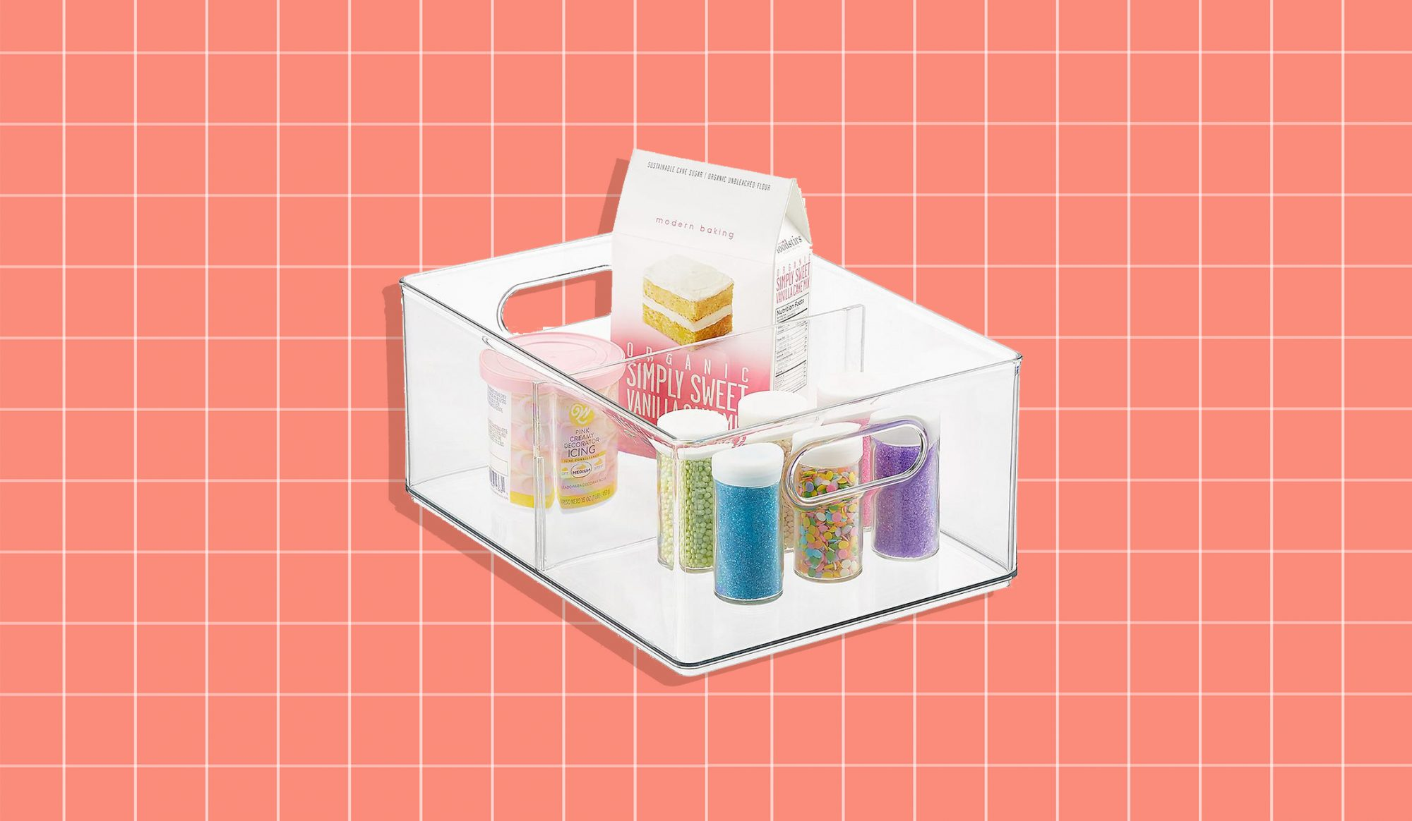 The Home Edit Container Store Organizers, clear plastic storage bin