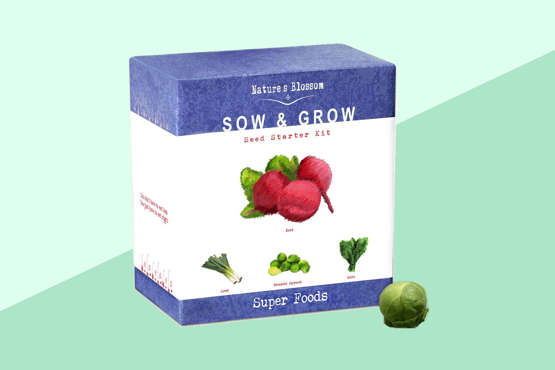 The Nature's Blossom Sow & Grow Seed Starter Kits