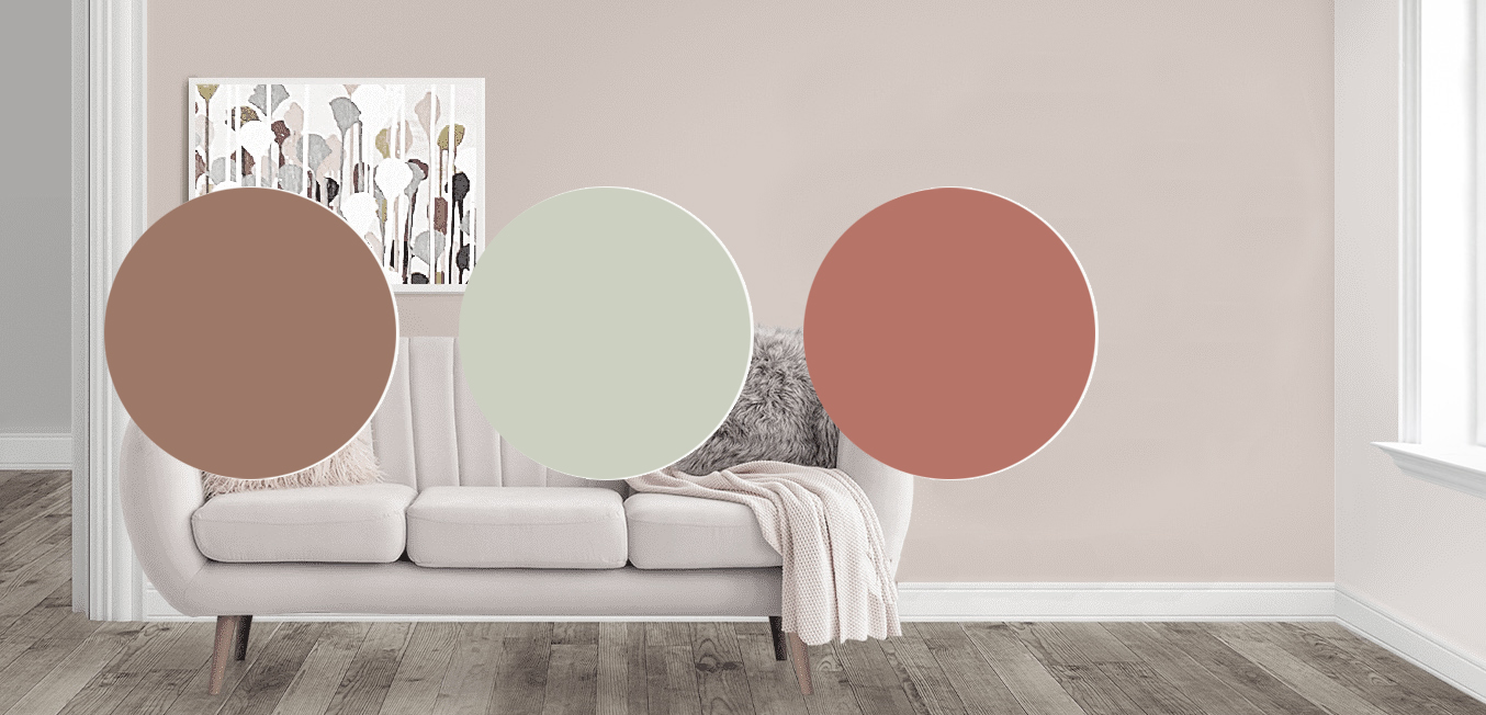 Paint Color Personality Quiz, living room with paint colors
