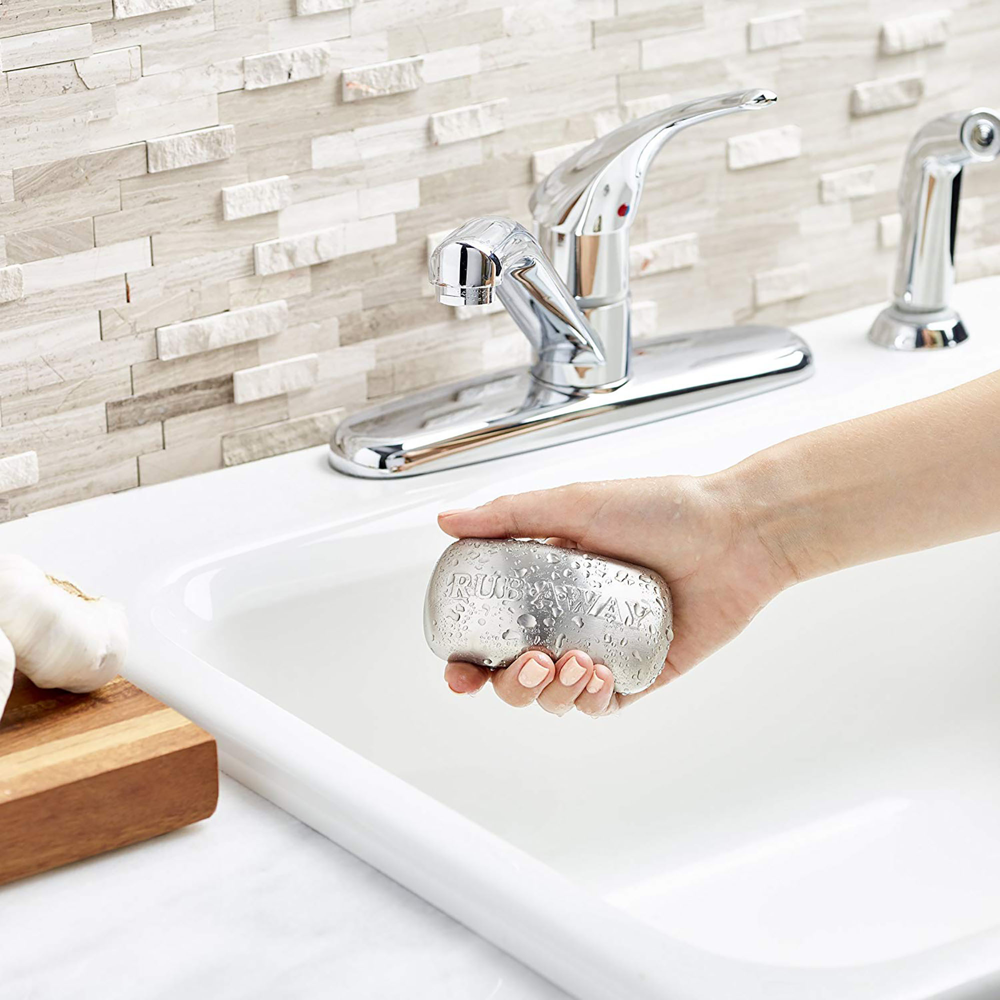 Amco Rub-a-Way Bar Stainless Steel Odor Absorber Review