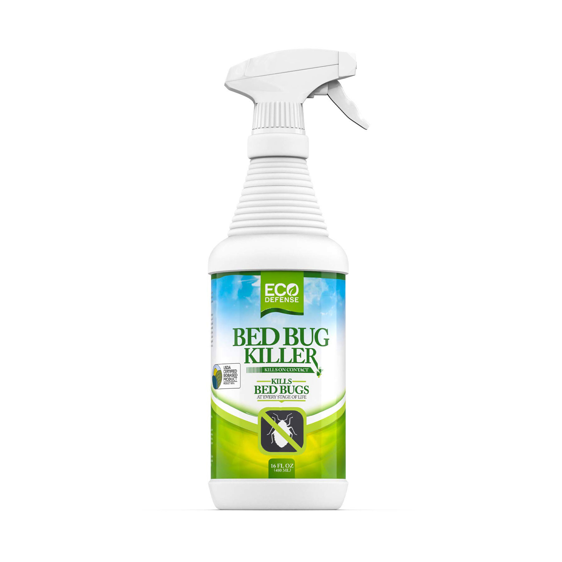 Eco Defense Bed Bug Killer for Do-It-Yourself Pest Control