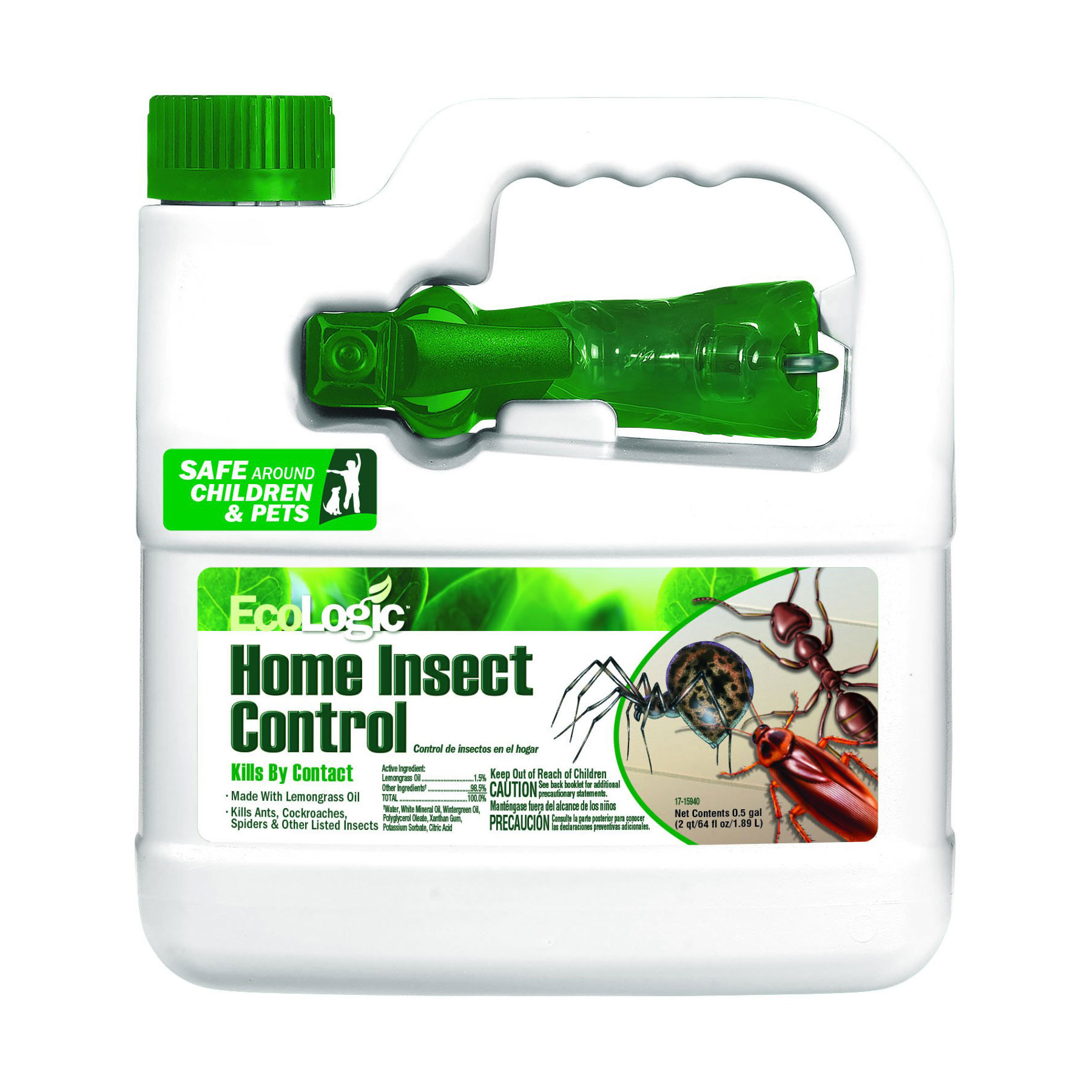 Ecologic Home Insect Killer for Do-It-Yourself Pest Control