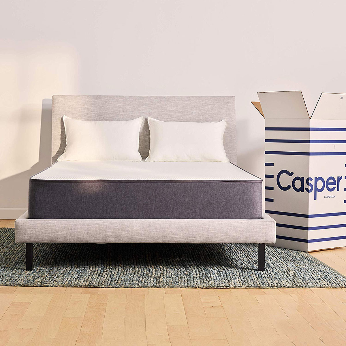 Casper 12-Inch Sleep Foam Bed in a Box Queen Mattress