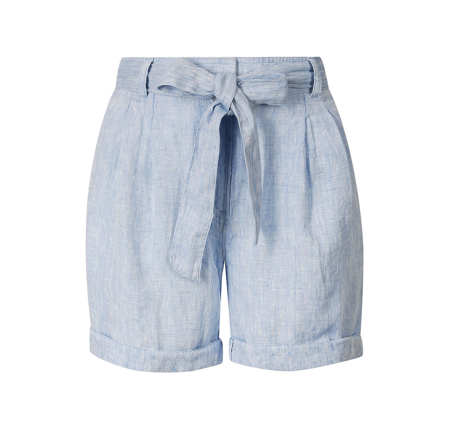 Pure Linen Casual Shorts