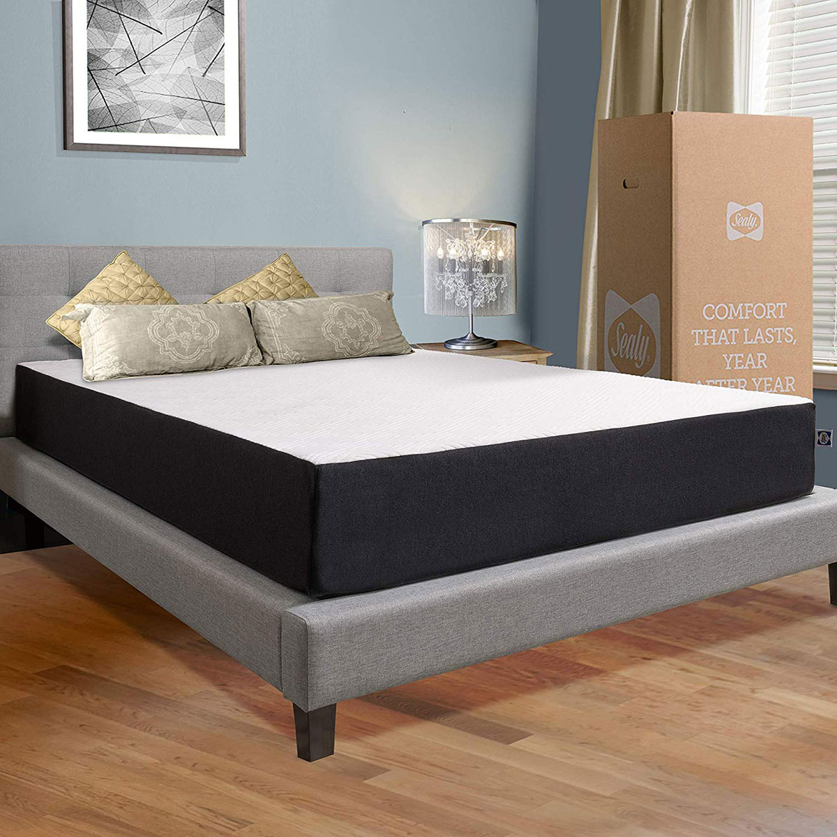 Sealy 10-Inch Memory Foam Hybrid Queen Mattress