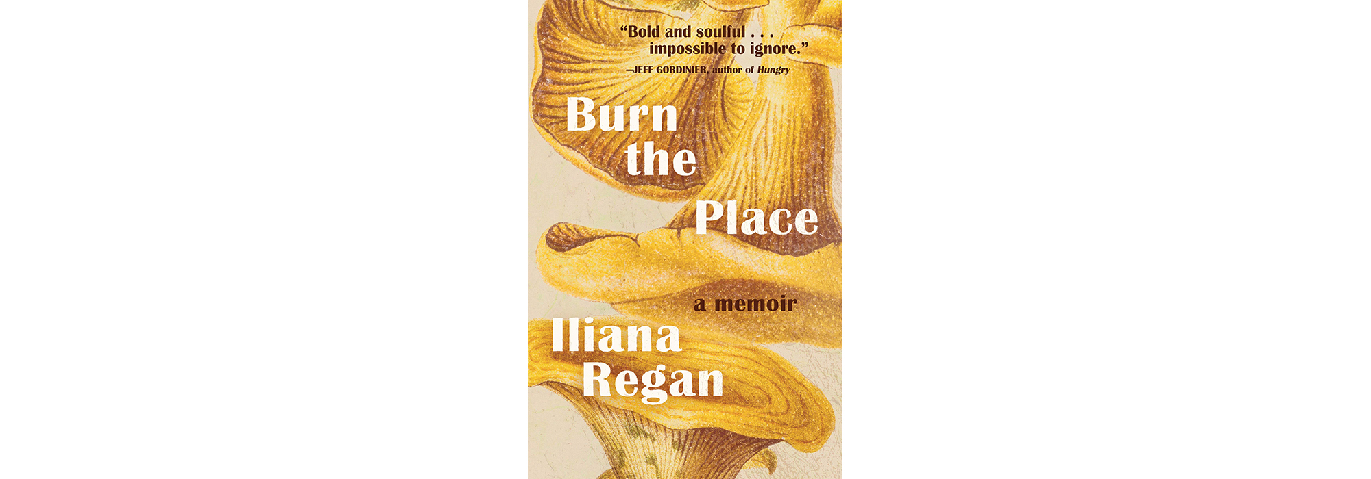 Cover of Burn the Place, by Iliana Regan