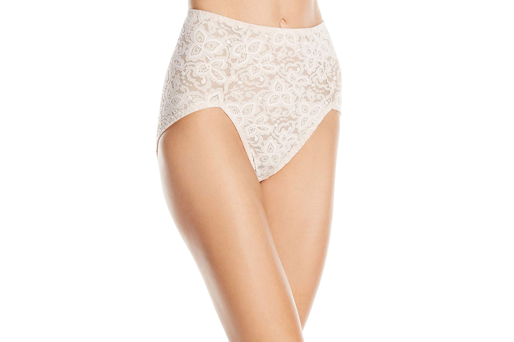 Bali Women's Shapewear Lace 'N Smooth Brief