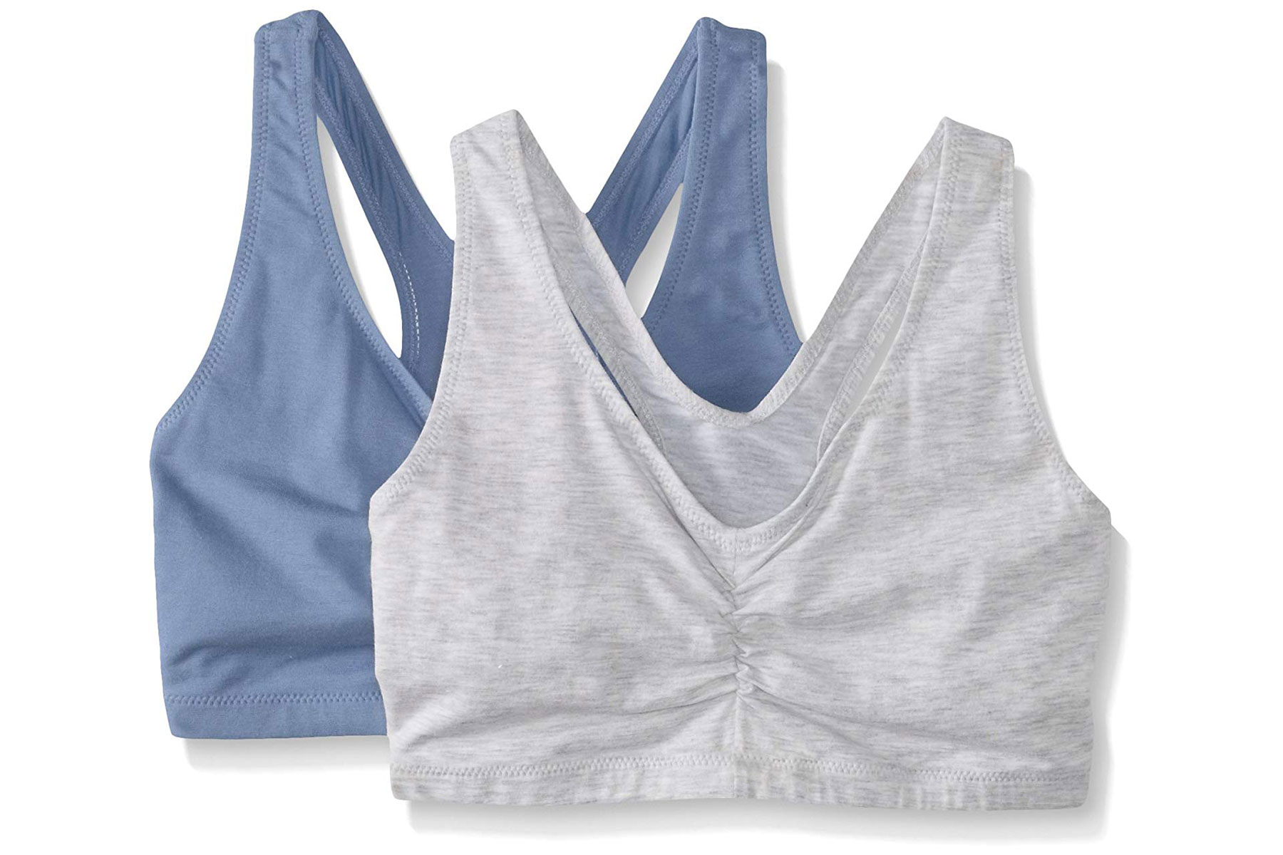 Hanes Women's Comfort-Blend Flex Fit Pullover Bra Two-Pack