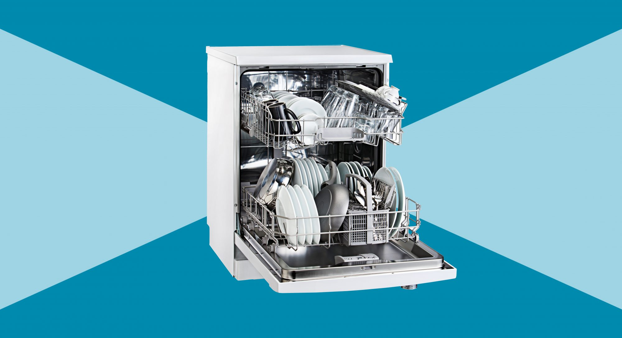 Rules to Follow for an Always-Clean Kitchen, dishwasher