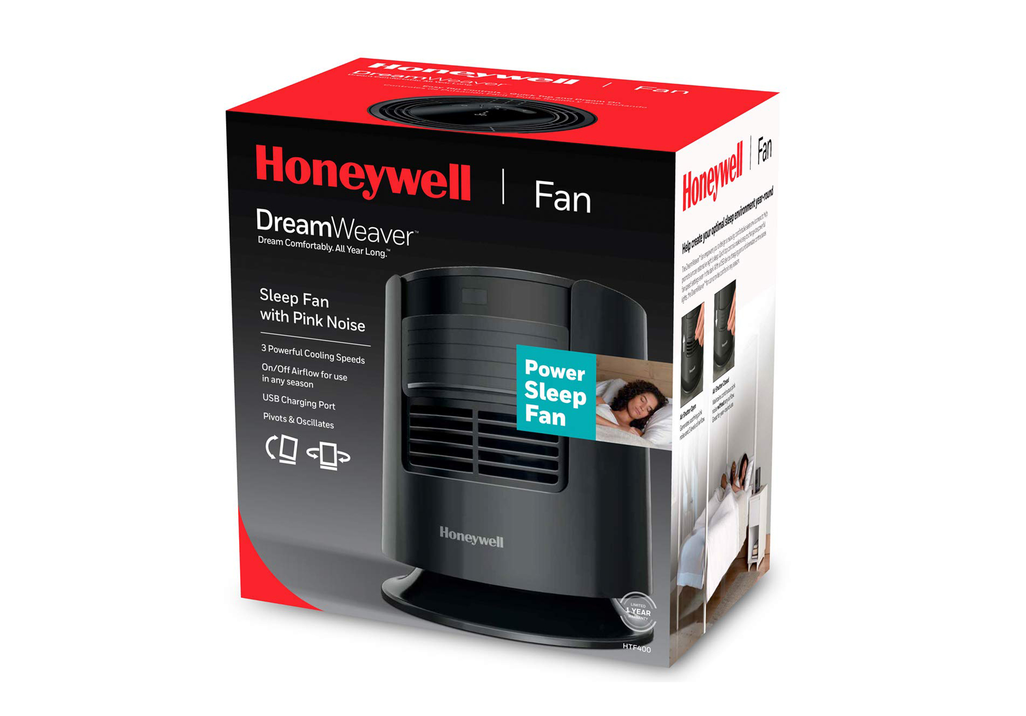 Honeywell Pink Noise Fan for Sleeping