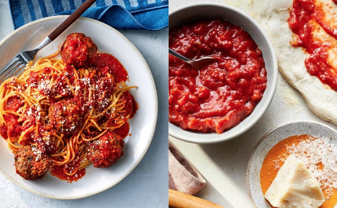 What's the Difference Between Pasta Sauce and Pizza Sauce?