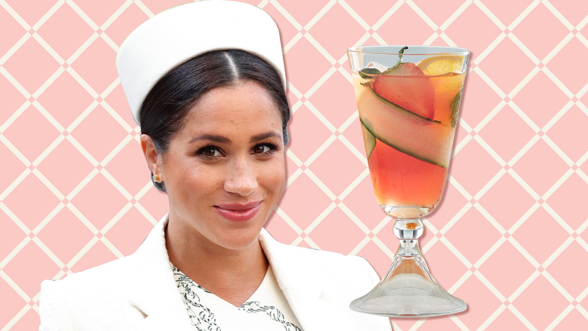 Meghan Markle Pimm's Cocktail