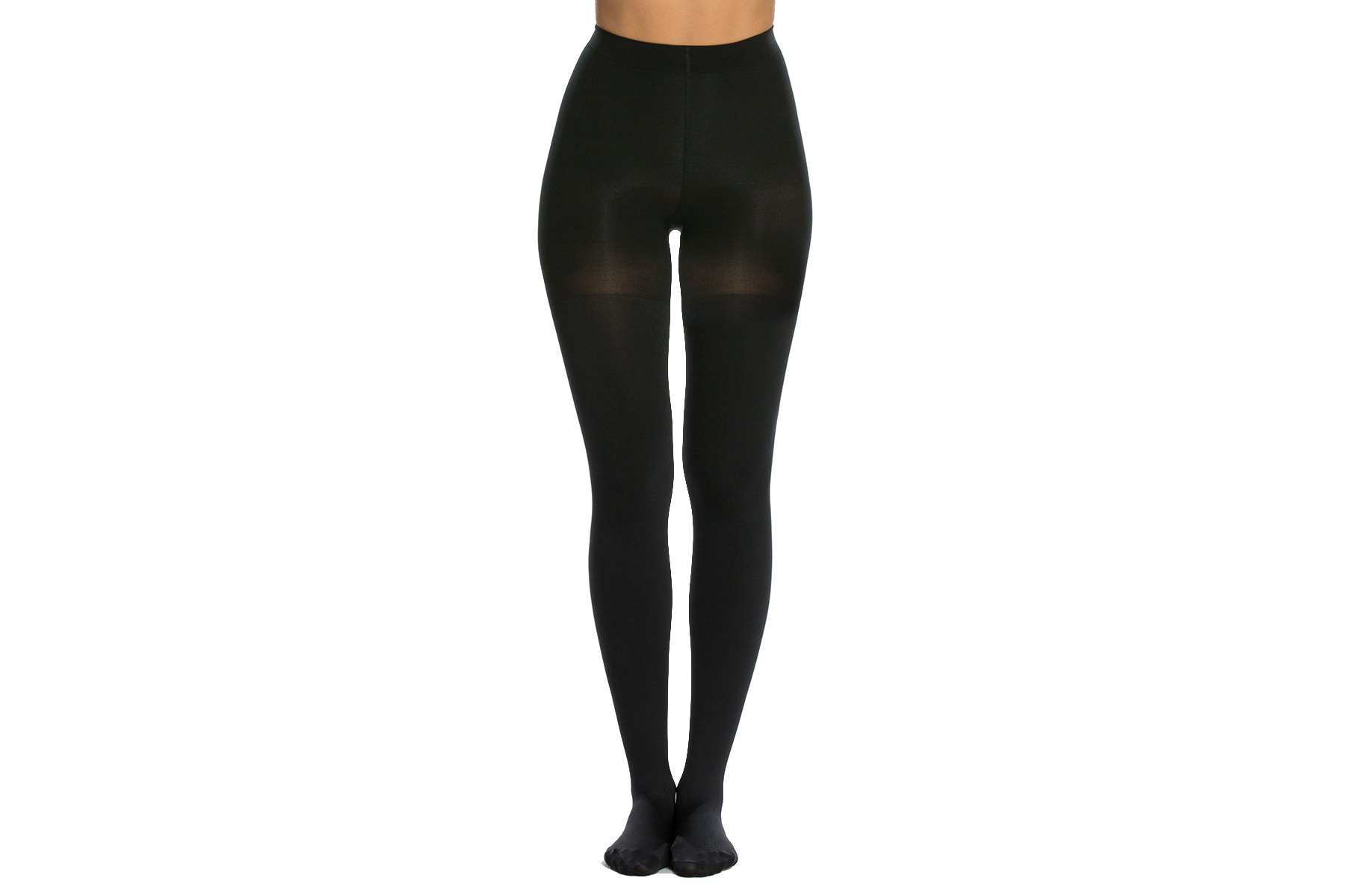 Spanx Luxe Leg Blackout Mid-Thigh Shaping Tights