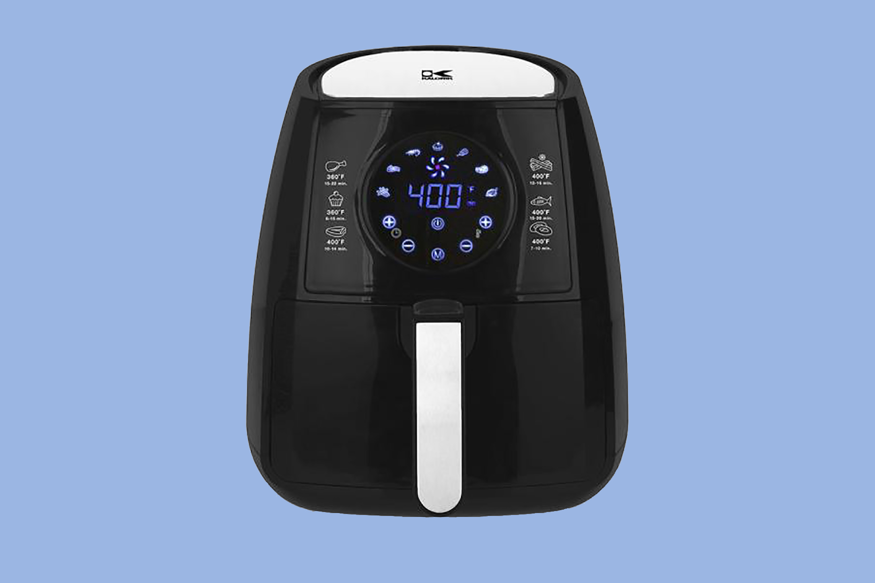 3.2 Qt. Digital Display Air Fryer in Black