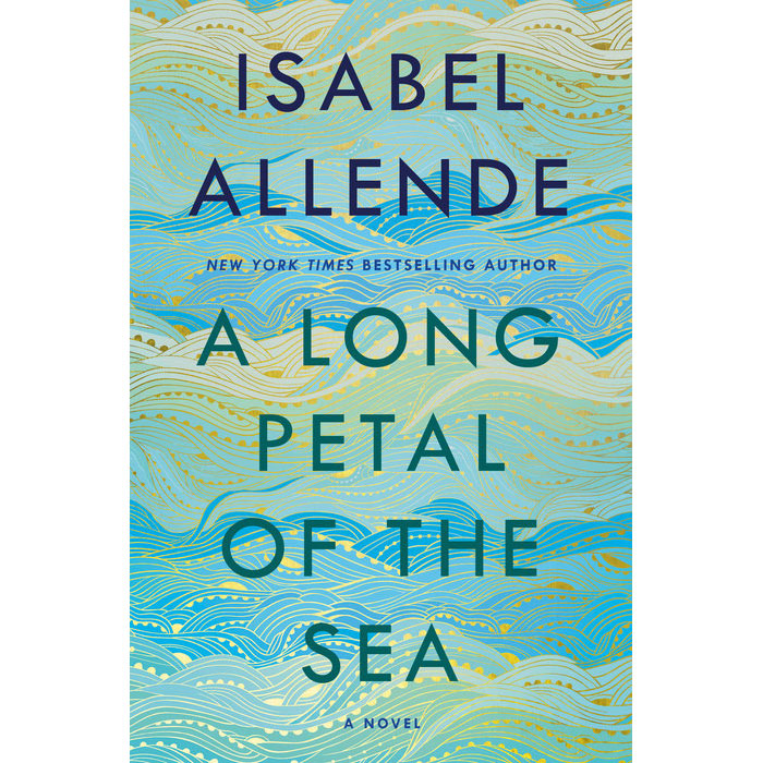 Cover of A Long Petal of the Sea by Isabel Allende