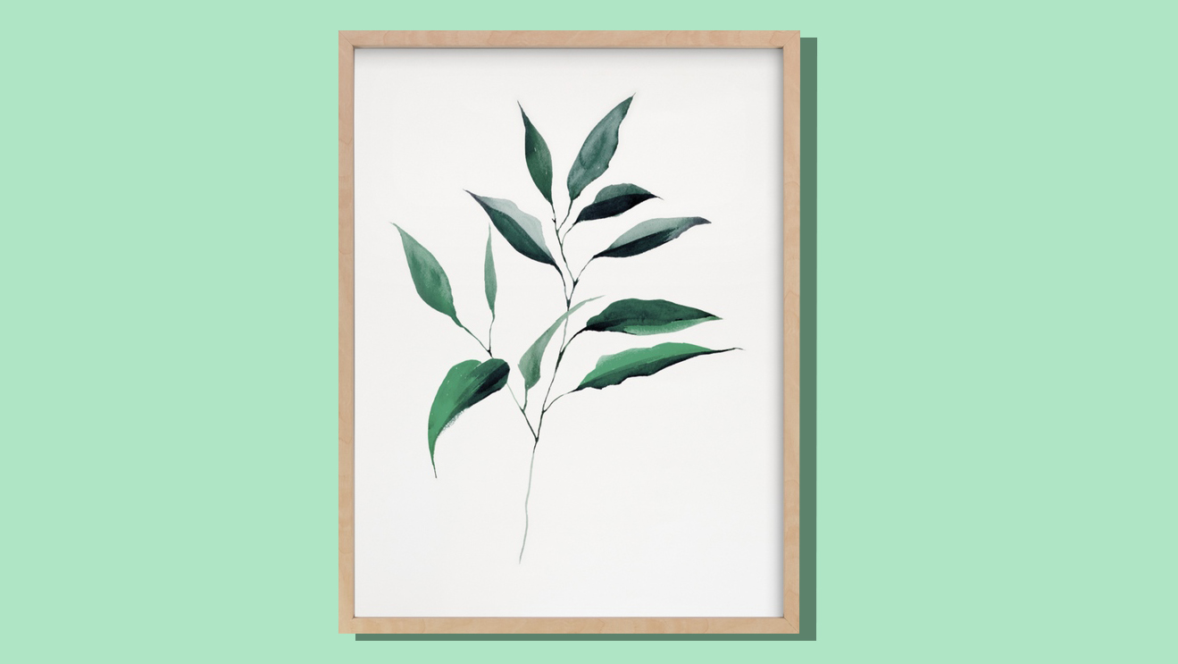 Ways to Make Your Kitchen Look Expensive, leaf artwork