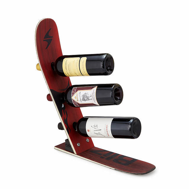 Best Gifts for Brother: Snow Ski Wine Rack
