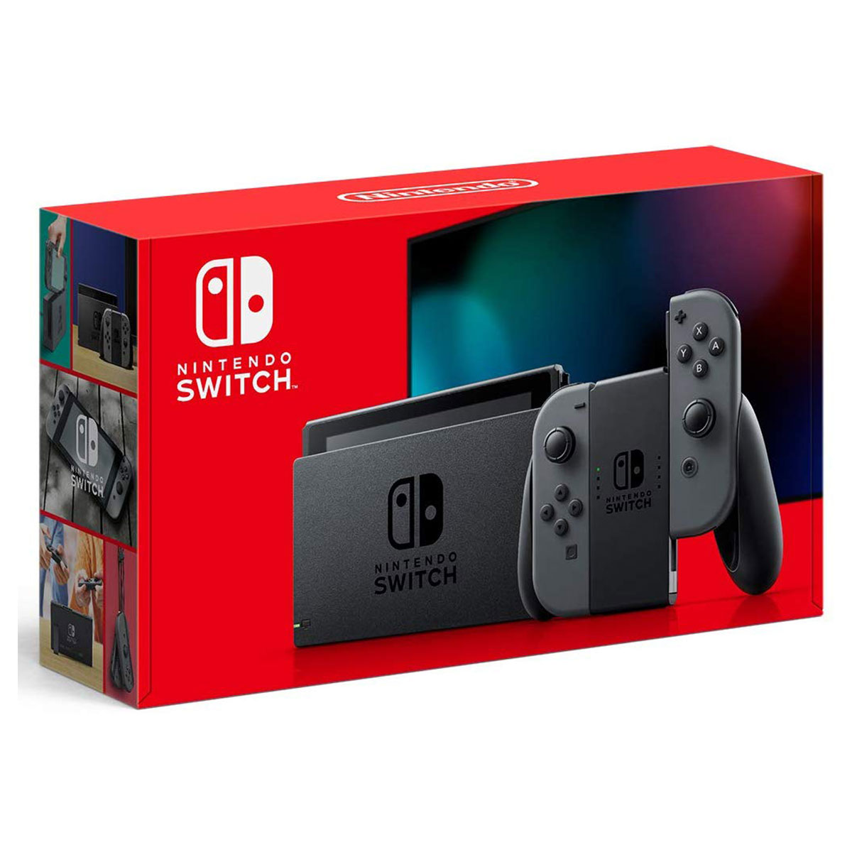 Gifts for Brother: Nintendo Switch with Gray Joy‑Con