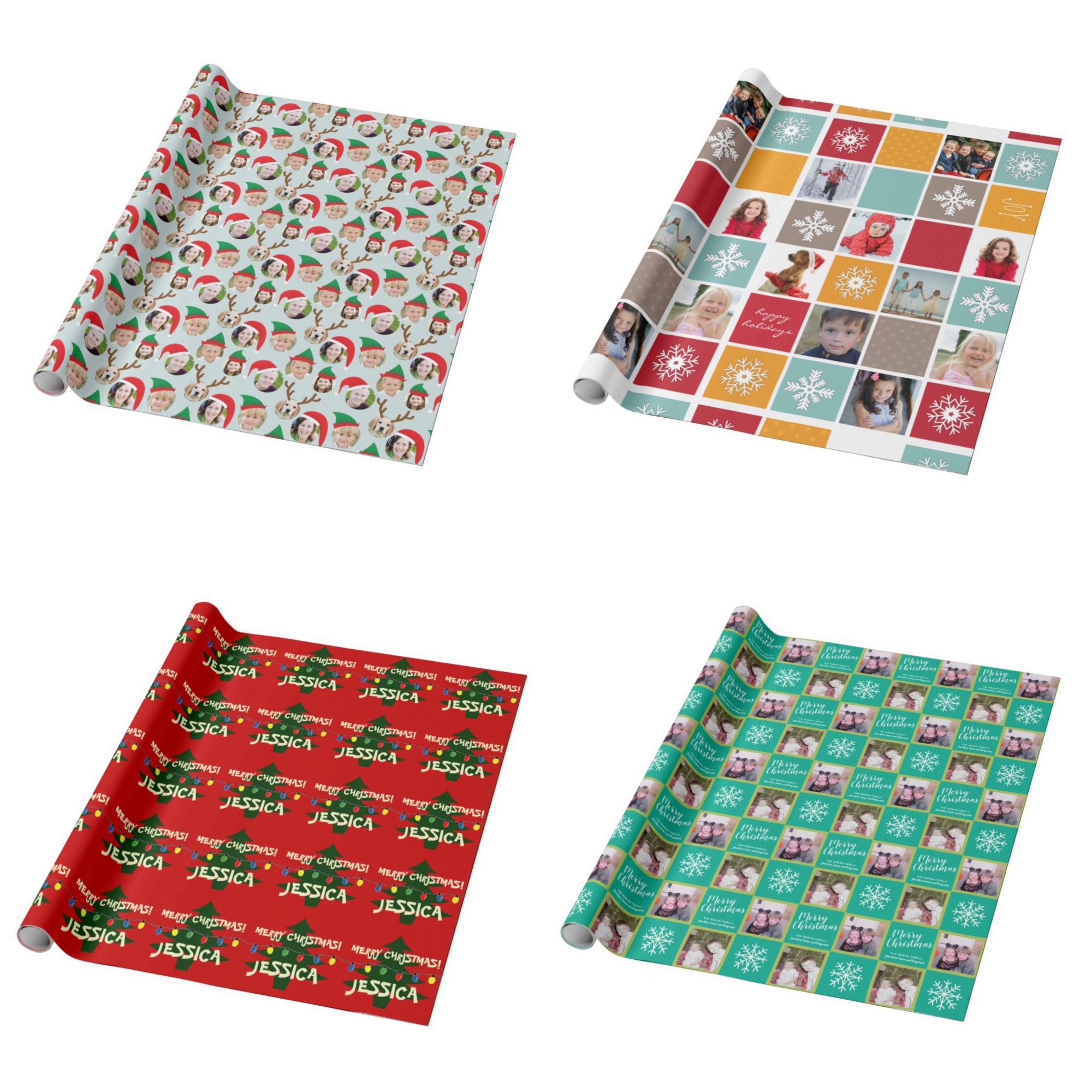 Zazzle Custom Wrapping Paper