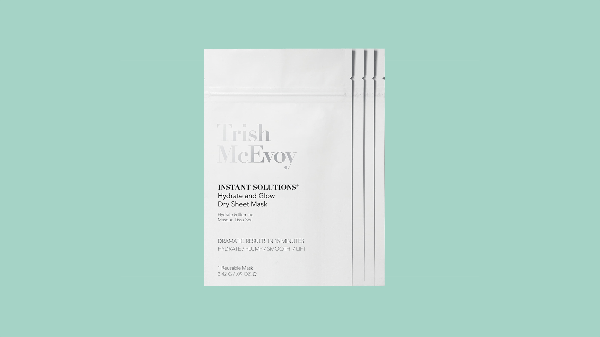 Trish McEvoy 4-Pack Instant Solutions Dry Sheet Mask