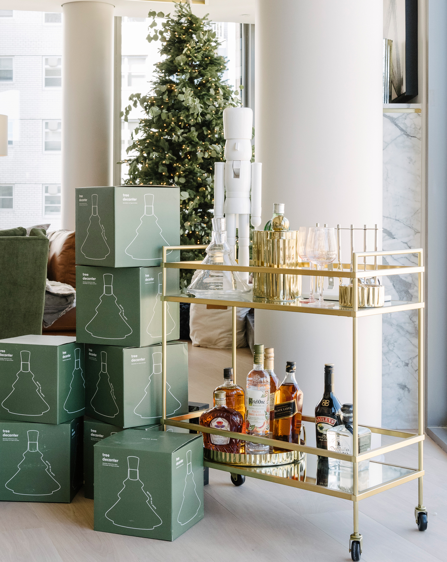 West Elm Holiday House decorating trends, ideas - Minimalist details