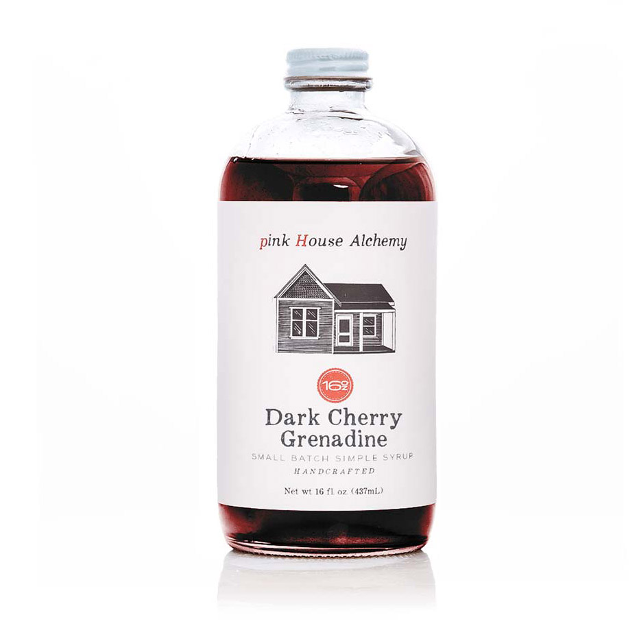 Best Hostess Gifts: Pink House Alchemy Dark Cherry Grenadine Syrup