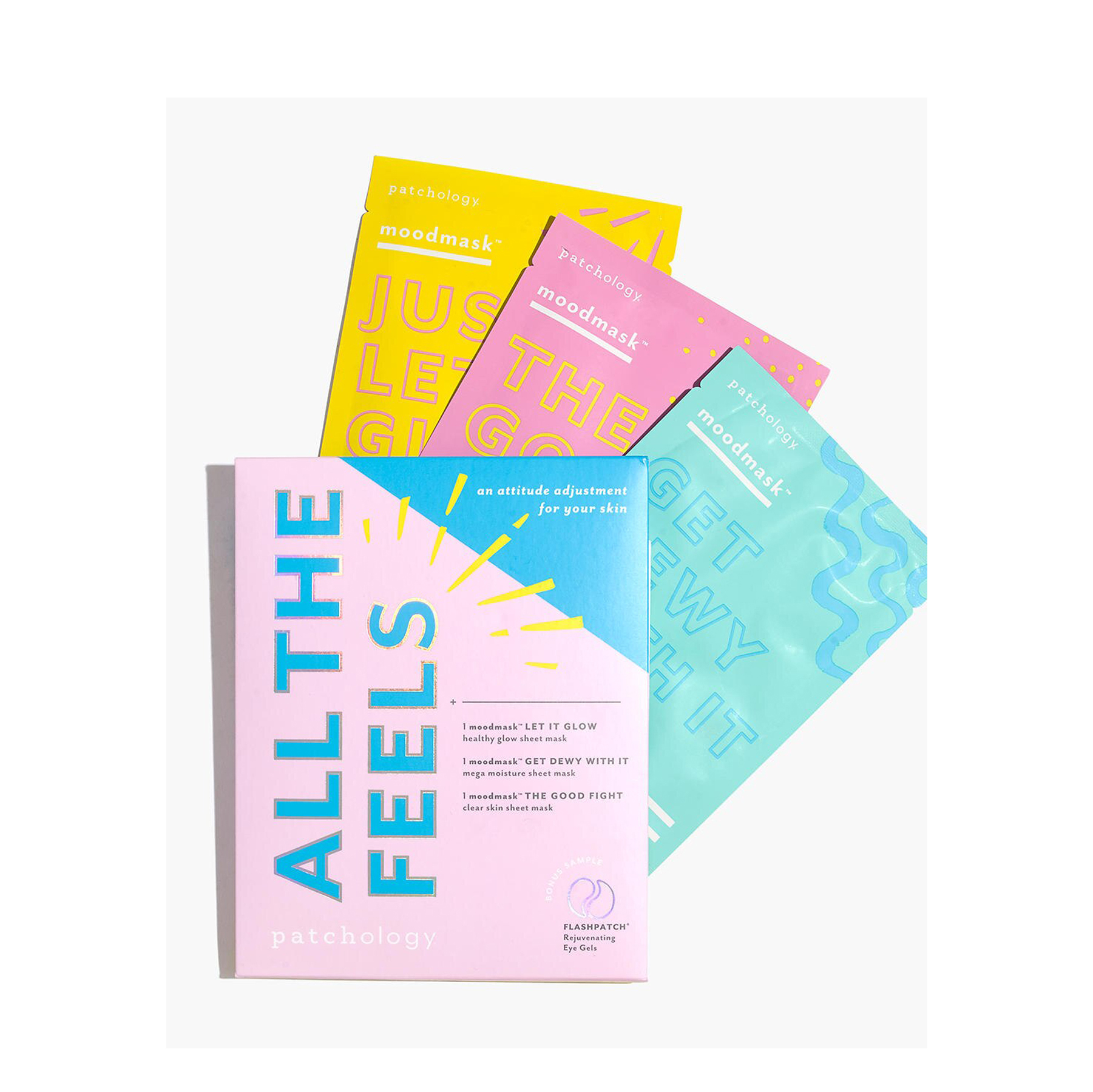 Cheap Christmas Gifts: Patchology All The Feels Moodmask Sheet Mask Three-Pack